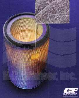 Clark Nanofiber Air Intake Cartridge
