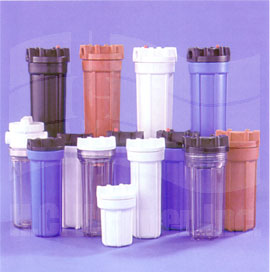 Plastic Filter Cartridge Housings
