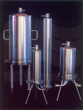 Parker's Advantage Sanitary Electropolished Filter Vessels