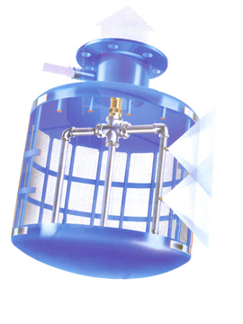 Self Cleaning Suction Screen