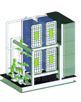 Electrodionization Stacks